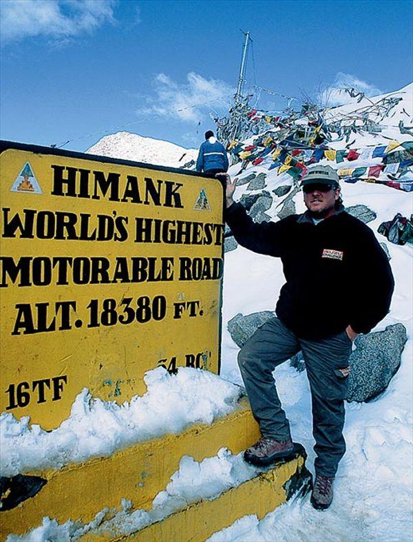 2001 isuzu challenge - featured club & event - four wheeler magazine towards the Himalayas