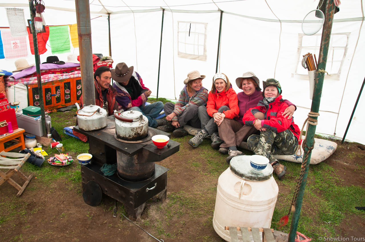 Nomad adventure - camping with tibetan nomads snowlion tours later date camping with nomads