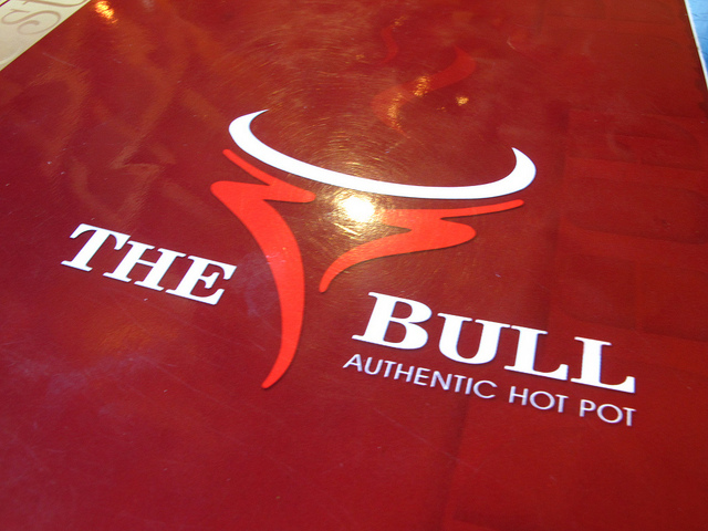 The bull hot pot is extremely