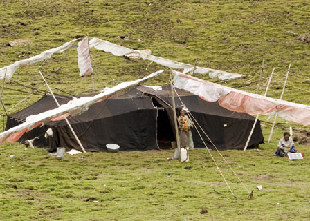 Tibetan Black Tent Tibet Spring Brook Ranch