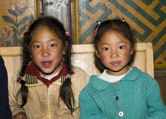 Tibetan children Spring Brook Ranch