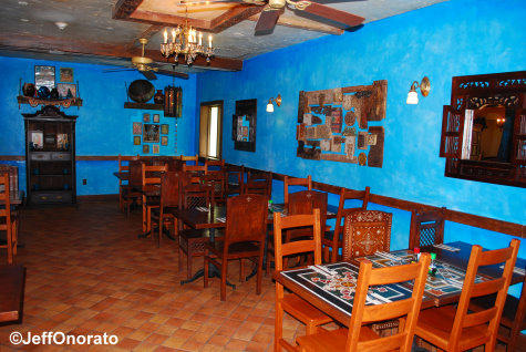 Yak and Yeti Upstairs Dining Blue