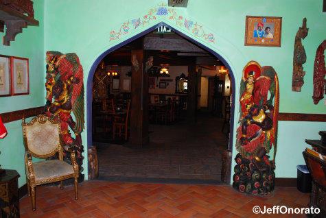 Yak & Yeti Entrance