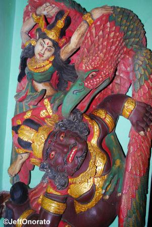Yak & Yeti Lobby Statue
